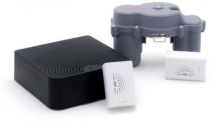 smart home leak detector